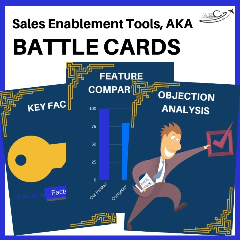 sales enablement tools - battle cards!