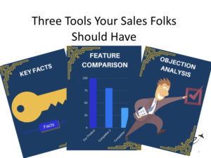 sales enablement tools - battle cards your salespeople should have