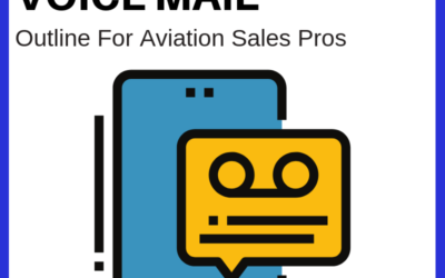 Aviation Sales Pros Use Voicemail