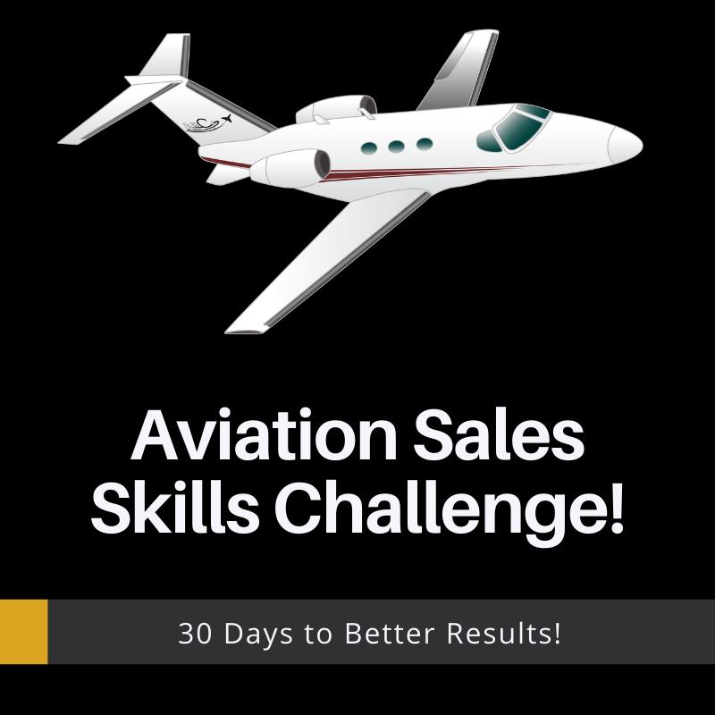 Aviation sales skills challenge