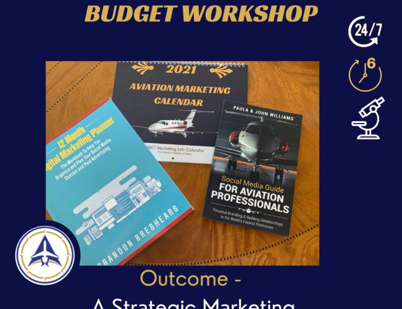 Aviation Marketing Strategy, Planning & Budget Workshop