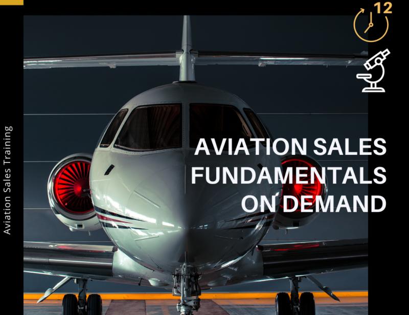 Aviation Sales fundamentals on demand